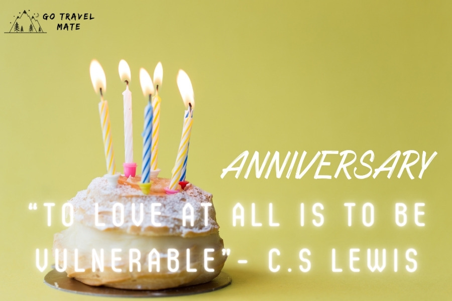 """""""To love at all is to be vulnerable""""- C.S Lewis"""